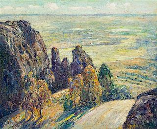 * Ernest Lawson, (Canadian/American, 1873-1939), Gateway to the Plains