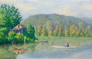 * Lawton Silas Parker, (American, 1868-1954), The Fisherman, 1920