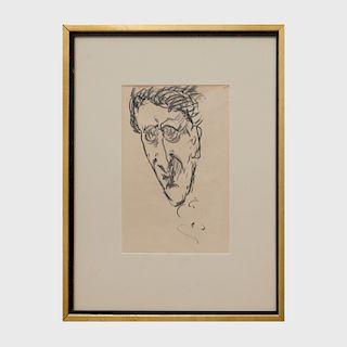 Marsden Hartley (1877-1943): Self Portrait #11