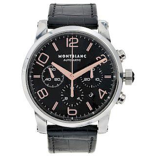 MONTBLANC TIMEWALKER REF. 7069 wristwatch.