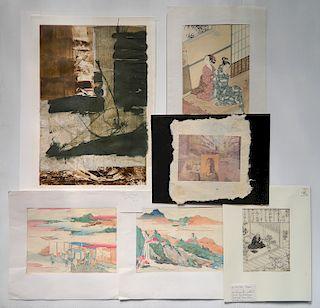 Yuko Kimura 2 mixed media on paper