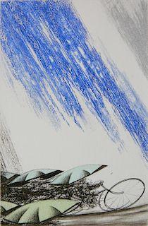 Shigeki Kuroda etching