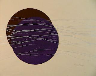 Toshiko Takaezu silkscreen