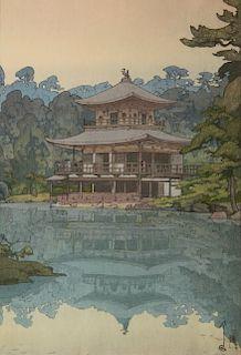 Hiroshi Yoshida woodblock