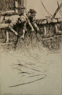 Arthur Briscoe etching