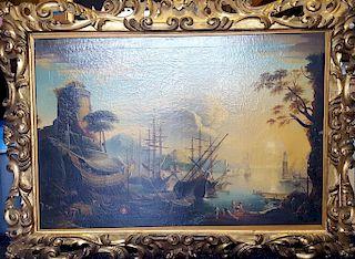 Claude Lorrain (1604-1682), manner. Old Master HUGE SIZE