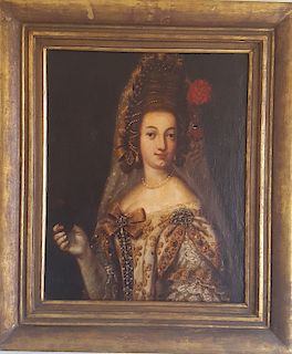 Old Master Portrait of Lady