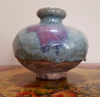 Chinese Antique Porcelain Vase oxblood 19th century