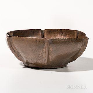 Dirk Van Erp Copper Bowl