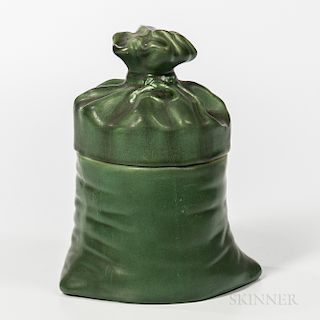 Hampshire Pottery Covered Vessel