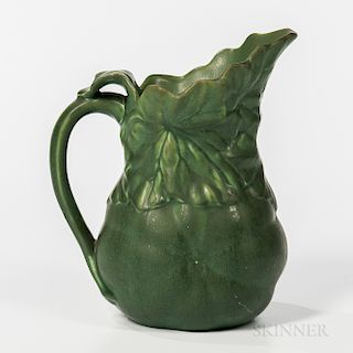Hampshire Pottery Pitcher