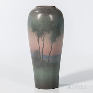 Lenore Asbury for Rookwood Pottery Vellum Vase