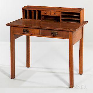 Gustav Stickley Model No. 720 Writing Table