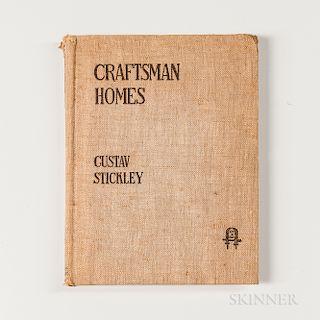 Gustav Stickley, Craftsman Homes