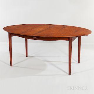 """Finn Juhl for Niels Vodder """"Silver"""" Table"""
