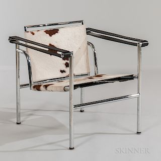 Le Corbusier LC1 Pony Hide Lounge Chair