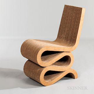 """Frank Gehry for Vitra """"Wiggle"""" Chair"""
