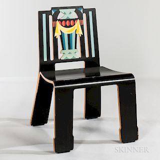 "Robert Venturi for Knoll ""Sheraton"" Molded Plywood Chair"