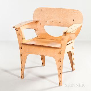 David Kawecki for 3-D Interiors Puzzle Chair