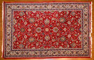 Persian Sarouk rug, approx. 4.4 x 6.8