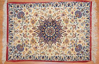 Persian Ispahan rug, approx. 2.1 x 2.8