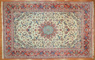 Persian Ispahan carpet, approx. 10.2 x 15.9