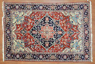 Persian Herez rug, approx. 6.8 x 9.7