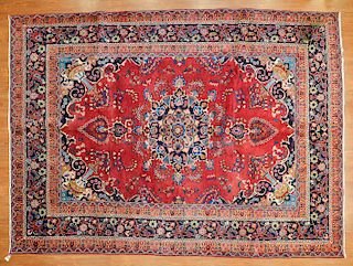Persian Meshed rug, approx. 8.2 x 11.2