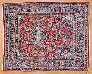 Persian Meshed rug, approx. 6.4 x 7.10