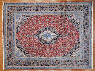 Fine Keshan carpet, approx. 10.2 x 13.3