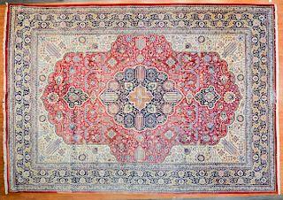Persian Tabriz carpet, approx. 11.6 x 16.5