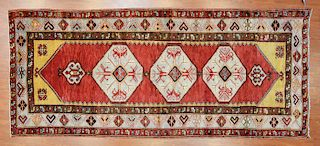 Antique Oushak rug, approx. 4.2 x 9.9
