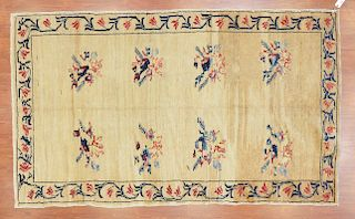 Antique Oushak rug, approx. 4.8 x 7.10
