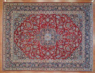 Antique Keshan carpet, approx. 9 x 11.11