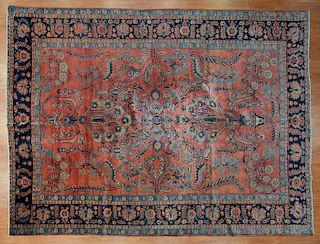 Antique Sarouk rug, approx. 8.3 x 11.2