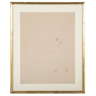 Alberto Giacometti. Walking Man, lithograph