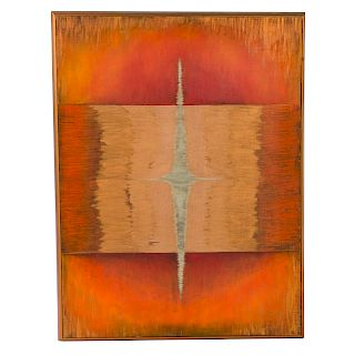 "Les Harris. ""Spirit,"" oil on canvas"