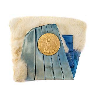 Brussels University medal