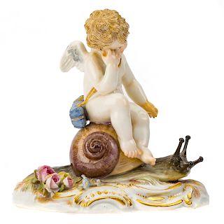 Meissen porcelain allegorical figure