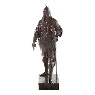 Emile Picault, Saracen Warrior bronze