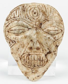 Taino Marble Mask (1000-1500 CE)