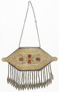 Antique Tekke Turkmen Pendant/Breastplate