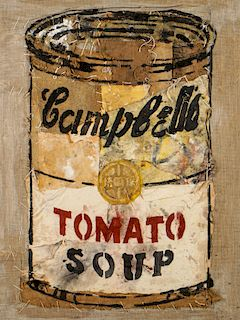 Pei Shen Qian (Chinese, 20th c.) Campbell's Tomato Soup Can