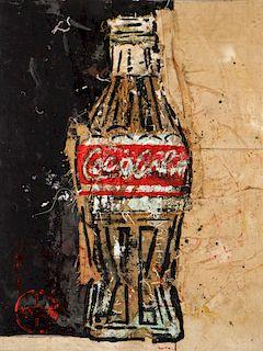 Pei Shen Qian (Chinese, 20th c.) Coke Bottle