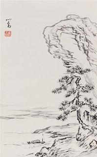 After Pu Ru, (1895-1963), Landscape Scene