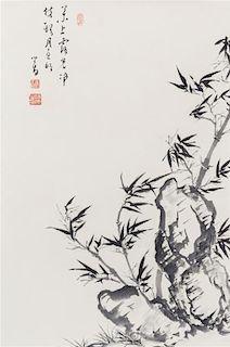 After Pu Ru, (1895-1963), Bamboo