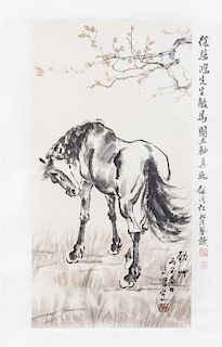 After Xu Beihong, (1895-1953), Horse