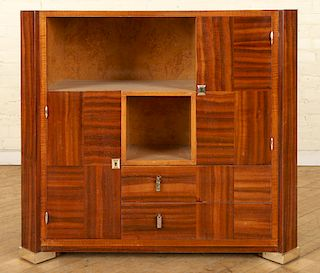 FRENCH ART DECO ROSEWOOD CREDENZA C.1930