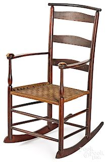 Mt. Lebanon, New York Shaker rocking chair
