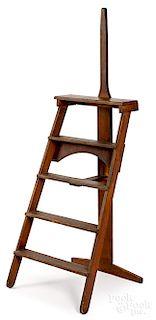 Rare Mt. Lebanon, New York Shaker folding ladder